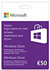 Windows Gift Card 50 Euro