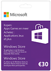 Windows Gift Card 30 Euro